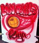 Custom Airbrushed Basketball Shirt W Name  Number Sizes 6 months Adult 5XL