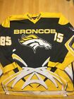 SUPER AWESOME NCAA Western Michigan Broncos 85 XXL Ace Hockey Sweater Jersey