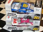 IC73-74 ACTION 2 CAR LOT 2013 GREG BIFFLE PINK / FASTENAL HEROES HIRED HERE