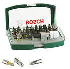 Bosch 32 Piece XR Magnetic Screwdriver Bit Accessory Set Professional Men New