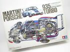 TAMIYA Martini Porsche 935 Turbo Big Scale Series 1/12 Model Car Kit