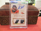 Panini Flawless Autograph Jersey Broncos Auto Wes Welker 02 10 2014