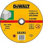 BRAND NEW DEWALT STONE CUTTING DISC 230MM X 3MM