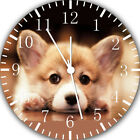 Pembroke Welsh Corgi Wall Clock Nice For Gift or Home Office Wall Decor F52