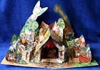 Vintage Pop up Paper Creche Nativity Scene Vojtech Kubasta 1960