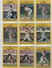 1991 Fleer Baseball Cards, You Pick the Players, Complete Your Set, Combined S