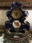 Antique Porcelain Mantel Clock