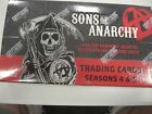 SONS OF ANARCHY SEASON 4&5 UNOPEN HOBBY BOX by Cryptozoic 24 Packs 5 Cards