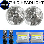 H4 HID Hi/Lo Light Bulbs 5000K White 7