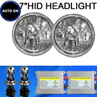 1pair H4 HID Hi/Lo Light Bulbs 5000K White 7