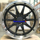 XXR 527D Wheels 18 +20 Graphite Rims Staggered 5x1143 Fit 90 91 96 Nissan 300zx