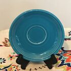 Fiestaware Peacock Saucer Fiesta Retired Blue Saucer Only