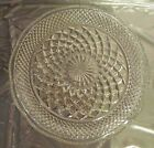 Anchor Hocking Wexford Clear Glass 9 1/2-Inch Snack Plate