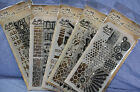 Tim Holtz Clear Stamps  Stencil many choices you pick combined shipping