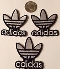 3 Adidas Logo Emblem Embroidered Iron On Patches pATCH APPX 2