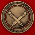 Challenge coin 2nd division Artillery.