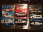 HOT WHEELS RED LINE CLUB RLC MEMBERS GHOSTBUSTERS ECTO 1  MAINLINES LOT