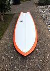 58 East Side Industries Quad Fish Surfboard Shortboard made in Santa Cruz CA