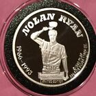 1993 Nolan Ryan MLB 4 Teams 1 Troy Oz .999 Fine Silver Ag Round Collectible Coin