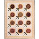 SUNFLOWER FIELD QUILT QUILTING PATTERN From The City Stitcher NEW
