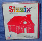 Sizzix Original Red Die Gingerbread House Cute Small House 38 0234 Used