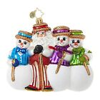 Christopher Radko 1018680 Santa's Barbershop Quartet - Santa & Snowmen Ornament