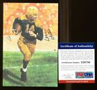 Don Hutson Signed Goal Line Art GLAC Autographed Packers PSA DNA X26780