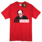 Never Surender Churchill T shirt Darkest Hour Inspired Oscars War Tee NEW