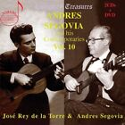 Segovia & Jose Rey De La Torre Andres Segovia Vol. 10 3 CD NEW sealed