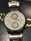 SEIKO Chronograph Date, Used, V657-0A10, Stainless steel, Quartz, Japan