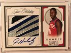 Jrue Holiday 2009-10 National Treasures Rookie Patch Auto RPA Autograph RC JSY