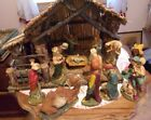 NATIVITY MANAGER SET 15 FIGURES 17X12 MANAGER