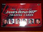 The Complete James Bond Trading Cards 40 Sealed Packs in Opened Box