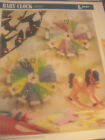 BABY CLOCK Plastic Canvas PATTERN Instructions Leaflet ANNIES