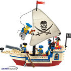 188pcs Pirate Ship Building Blocks Action DIY Figure Toys Gift For Kids