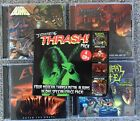 Earache Thrash Pack Municipal Waste Evile Bonded by Blood Gama Bomb RARE!! CD