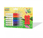 NaturePlay Triangular Natural Grip Dry Erase Markers (6 Colors with Eraser)