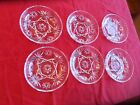 6 HARD TO FIND EAPC EARLY AMERICAN PRESCUT BOWLS 5 1/2