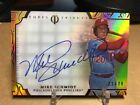 2015 TOPPS TRIBUTE MIKE SCHMIDT ORANGE ON CARD AUTOGRAPH 21 75 PRISTINE GEM