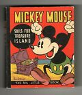 Mickey Mouse Sails For Treasure Island Big Little Book BLB presented by KOLYNOS