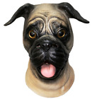 Pug Dog Head Mask for Halloween Party Carnival Mask Party