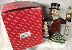 Vintage 1993 Fitz and Floyd Kris Kringle Teapot Christmas Dickens Caroler IOB