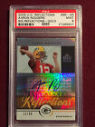 Aaron Rodgers 2005 Upper Deck Reflections Gold Auto Rookie Card 13 89 PSA 9 Mint