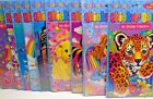 New Vintage Lisa Frank My Sticker Collection with 100 Stickers Inside Scrapbook