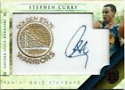 2010-11 PANINI GOLD STANDARD STEPHEN CURRY AUTO 199