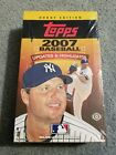 2007 Topps Baseball Update and Highlights Series Factory Sealed Hobby Box