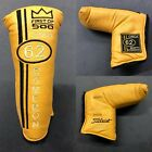 Scotty Cameron Circa 62 Yellow 1 500 Putter Headcover Early Release New
