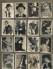 up103 RARE 1920S FILM STARS SILENT STARS CUBA ISSUED CIGARETTE CARDS
