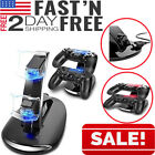 PS4 Controller Charger Charging Station Dock PS4 Cooling Stand Fan DualShock 4