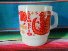 Vintage Fire King SCORPIO Zodiac Astrology Glass Mug / Cup Anchor Hocking USA